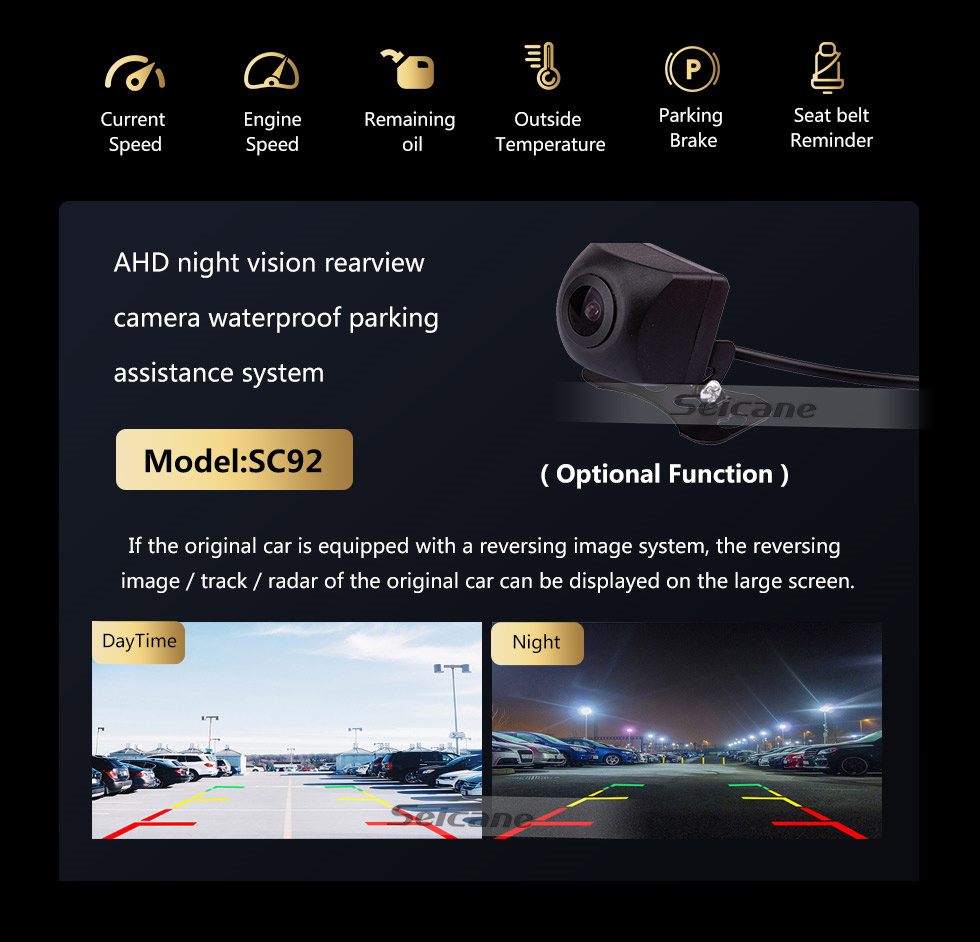 Seicane Android 10.0 10.25 inch For 2009 2010 2011 2012 BMW 7 Series F01 F02 CIC LHD Radio HD Touchscreen GPS Navigation with Bluetooth support Carplay SWC