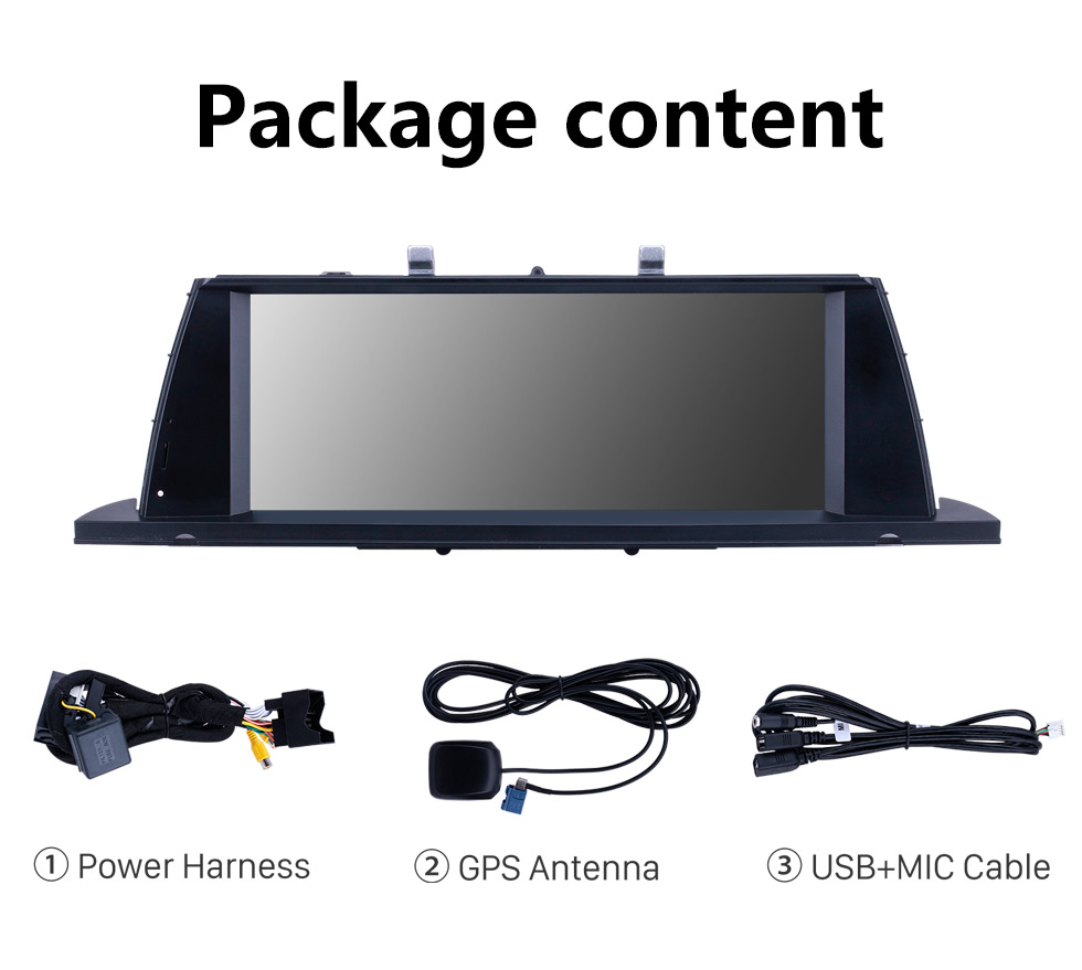 Seicane Android 10.0 10.25 inch for BMW 5 Series F07 GT(2011-2012) CIC Radio HD Touchscreen GPS Navigation System with Bluetooth support Carplay DVR