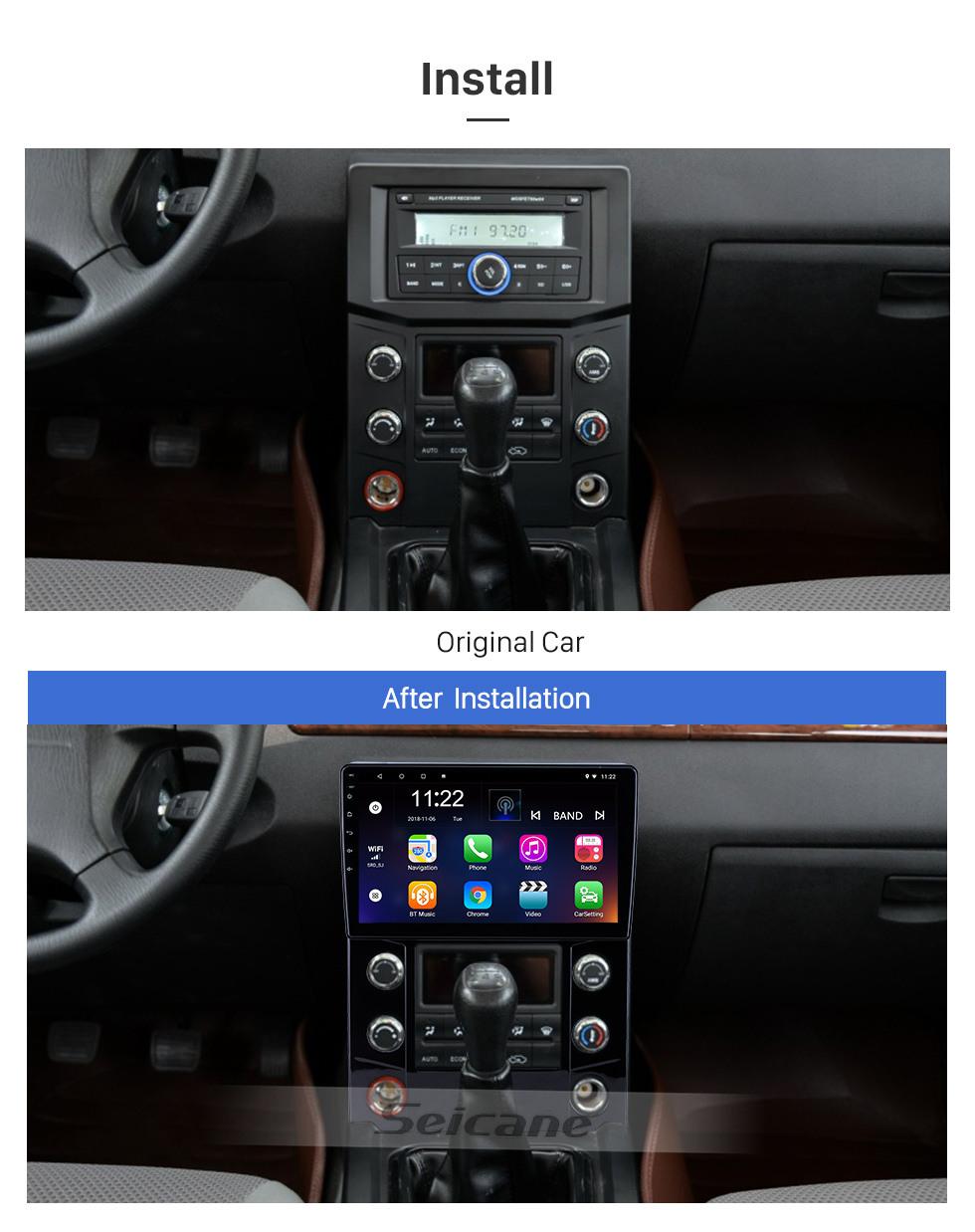 Seicane OEM 10,1 Zoll Android 10.0 für 2015 JDMC T5 Radio Bluetooth WIFI HD Touchscreen GPS Navigationssystem Unterstützung Carplay Rückfahrkamera