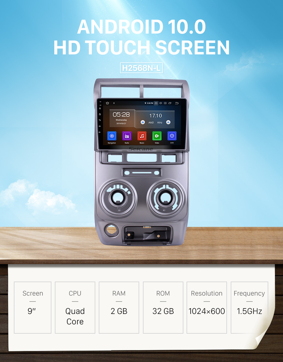 Seicane Android 10.0 For 2004-2010 2011 2012 Toyota Avanza Radio 9 inch GPS Navigation System Bluetooth HD Touchscreen Carplay support SWC