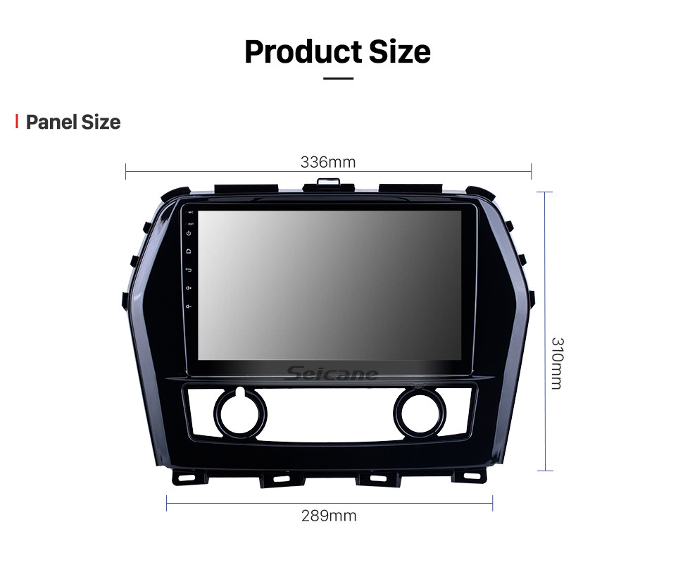 Seicane Android 10.0 HD Touchscreen 10.1 inch for 2016 Nissan Teana/Maxima Radio GPS Navigation System with Bluetooth support Carplay TPMS