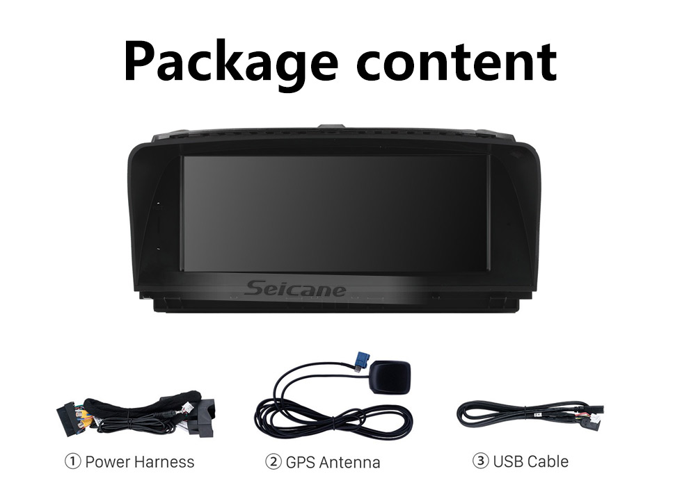 Seicane 8.8 inch Android 10.0 for BMW 7 Series E65/E66(2004-2009) Radio GPS Navigation System With HD Touchscreen Bluetooth support Carplay OBD2
