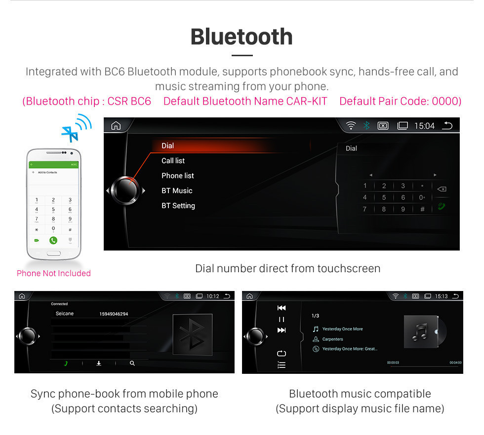 Seicane OEM 10.25 inch Android 10.0 for BMW E53 X5(1998-2006) Radio Bluetooth HD Touchscreen GPS Navigation System support Carplay DAB+