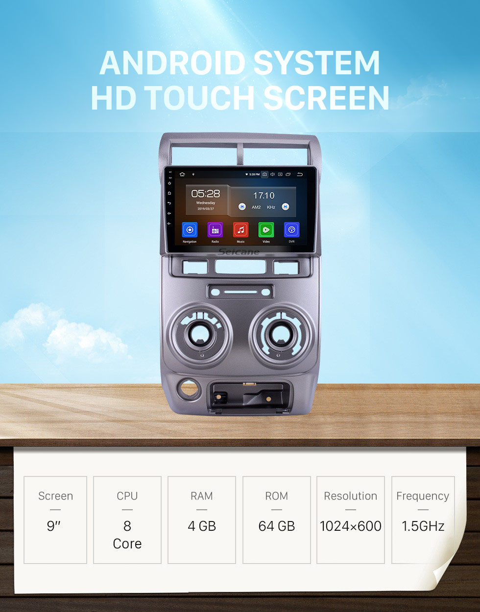 Seicane HD Touchscreen 9 inch for 2004 2005 2006-2012 Toyota Avanza Radio Android 10.0 GPS Navigation System Bluetooth Carplay support DSP TPMS