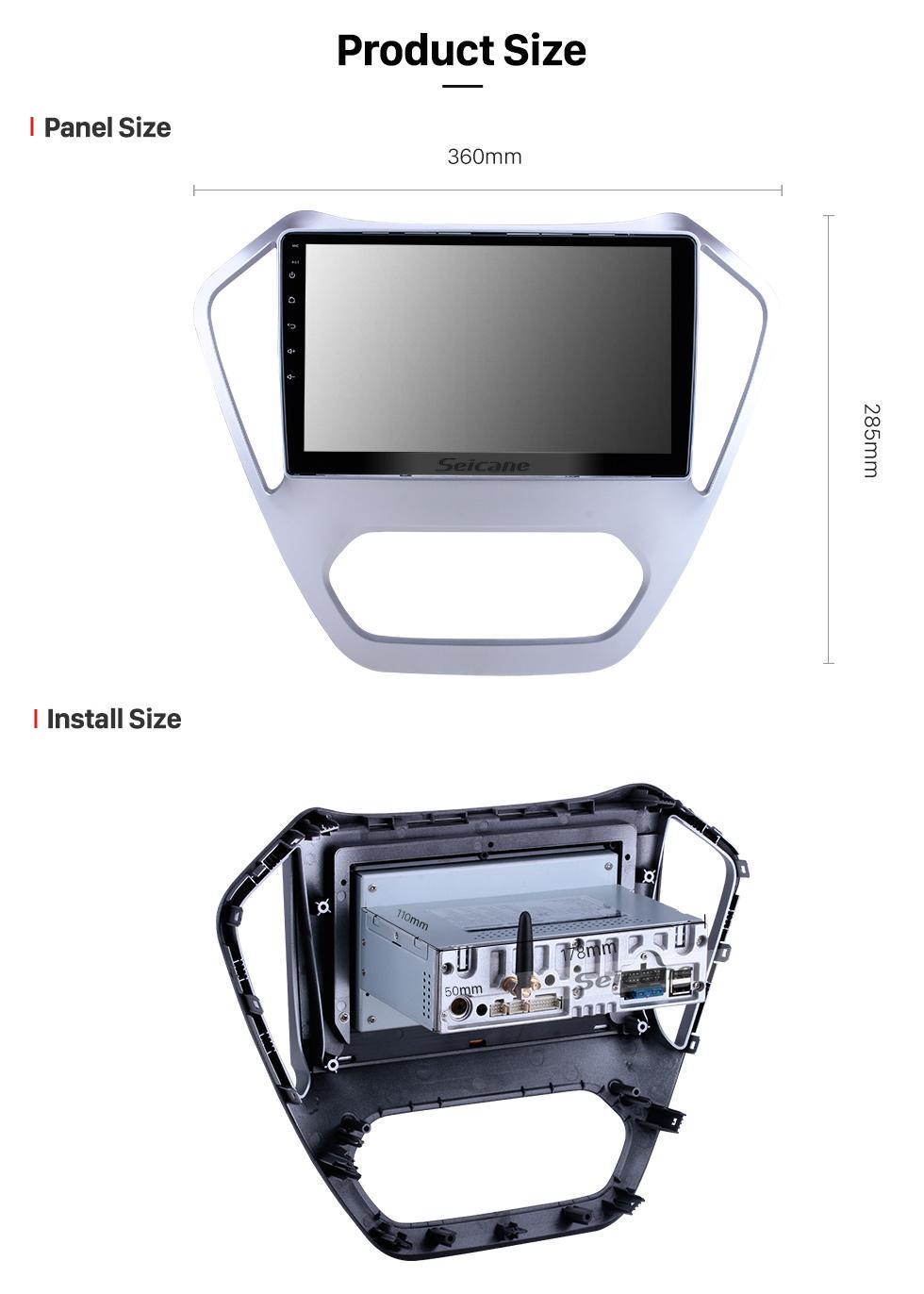Seicane Android 10.0 para 2014 2015 2016 MG GT Radio 10.1 pulgadas Sistema de navegación GPS Bluetooth HD Pantalla táctil Carplay compatible DSP SWC