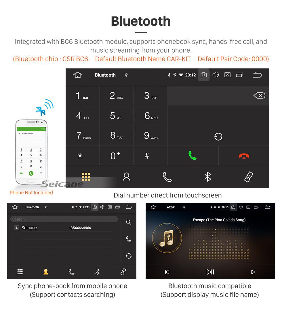 Seicane Android 10.0 For 2006 Toyota Previa/Estima/Tarago Radio 10.1 inch GPS Navigation System Bluetooth HD Touchscreen Carplay support SWC
