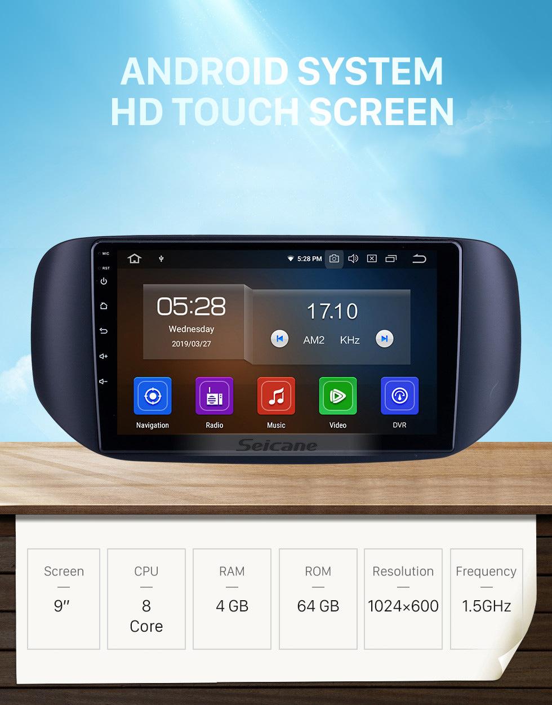 Seicane OEM 9 pulgadas Android 10.0 para 2018 Tata Hexa RHD Radio con Bluetooth HD Pantalla táctil Sistema de navegación GPS Carplay soporte DSP TPMS