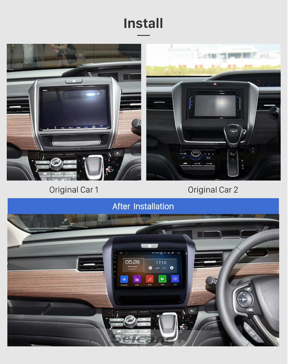 Seicane 9 inch For 2020 Honda Freed Hybrid RHD Radio Android 10.0 GPS Navigation System Bluetooth HD Touchscreen Carplay support Digital TV