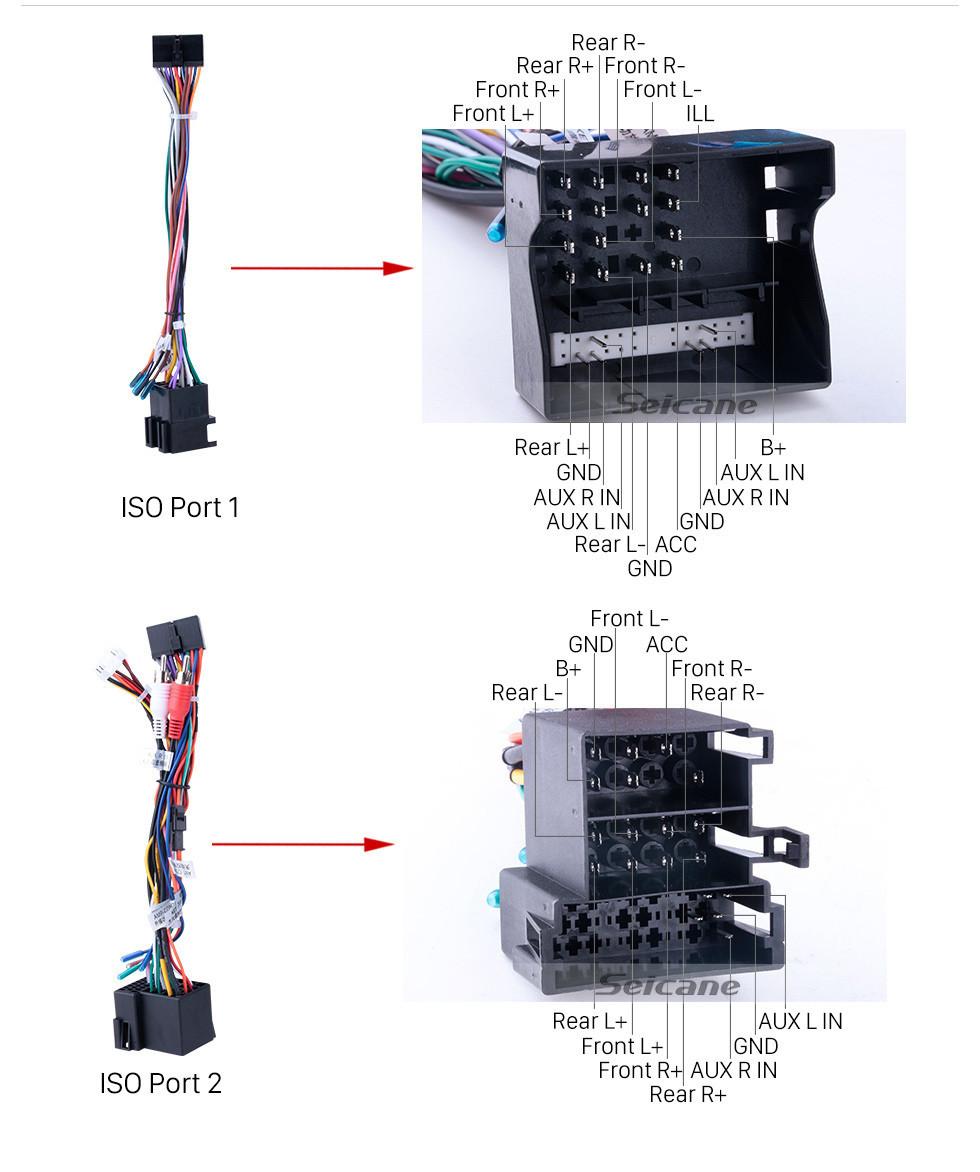 Seicane Android 10.0 Para 2008 2009 2010-2014 Rádio Skoda Fabia 10,1 polegadas Sistema de Navegação GPS Bluetooth HD Touchscreen Carplay support DVR