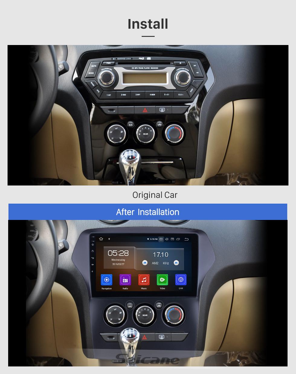 Seicane 10.1 pulgadas para 2011 JMC Old Yusheng Radio Android 10.0 Navegación GPS Bluetooth HD Pantalla táctil Carplay soporte OBD2
