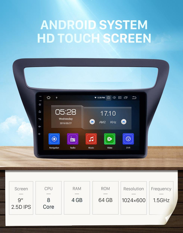 Seicane 2016-2018 Chevy Chevrolet Lova RV Android 10.0 9 pouces GPS Navigation Radio Bluetooth HD Écran tactile AUX Carplay support caméra de recul