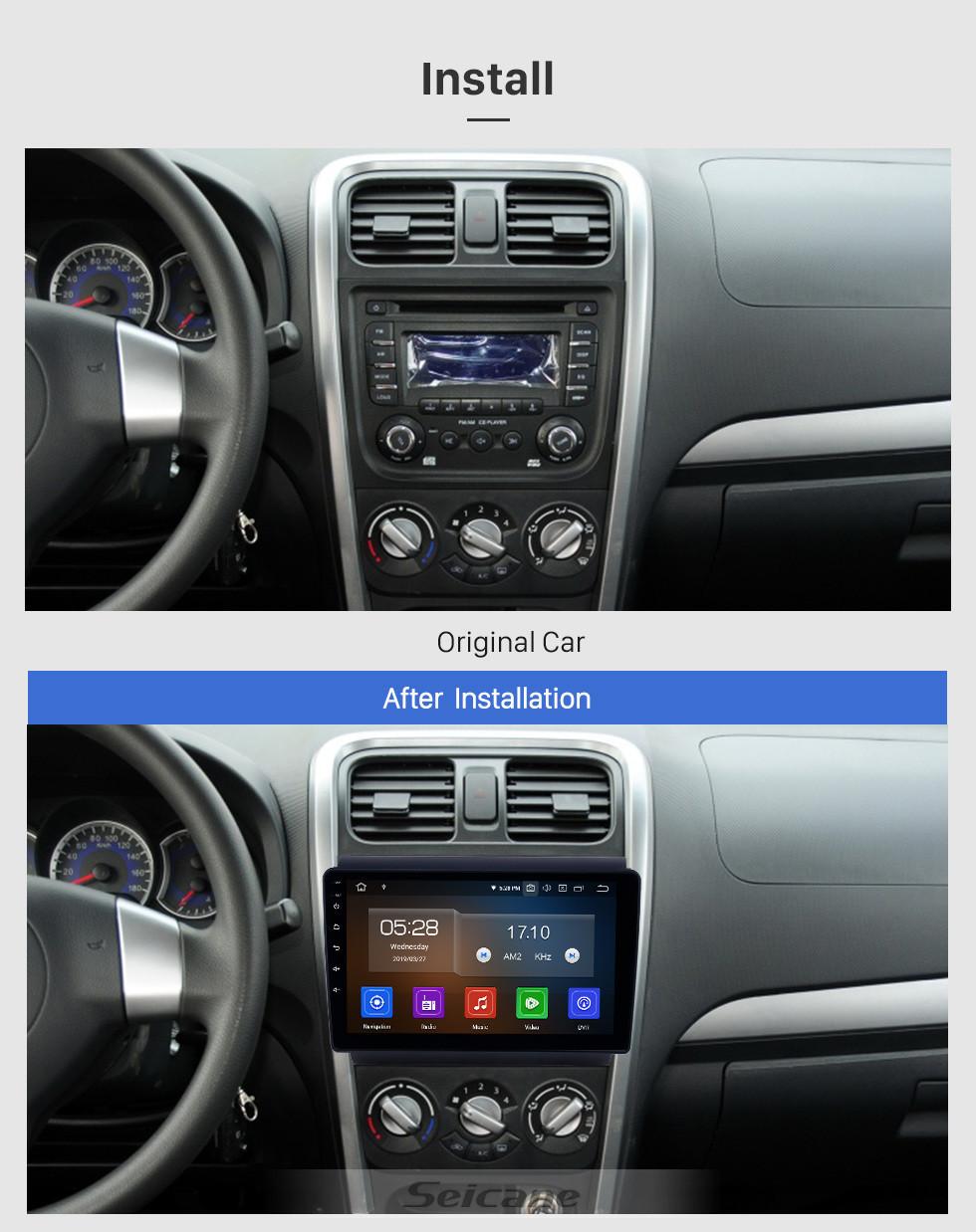 Seicane OEM 9 inch Android 10.0 for 2013-2017 Suzuki Wagon R X5 Bluetooth HD Touchscreen GPS Navigation Radio Carplay support TPMS