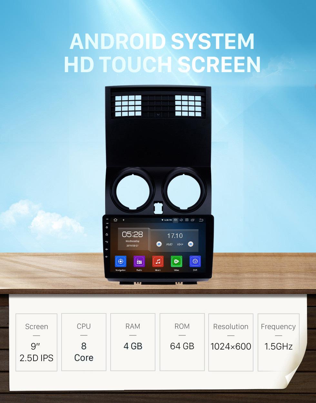 Seicane 9 Inch 2008-2015 Nissan Qashqai 1 J10 Android 10.0 HD Touchscreen Bluetooth Radio with GPS Navigation USB FM WIFI support 4G 1080P Video Backup Camera Steering Wheel Control Carplay