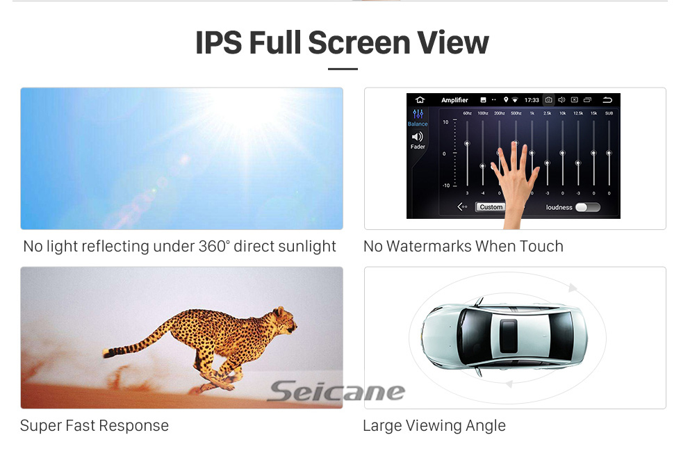 Seicane 10.1 inch Android 10.0 GPS navigation system for 2015 2016 2017 Toyota CAMRY Bluetooth Mirror link Radio Capacitive multi-touch screen OBD DVR Rear view camera TV 3G WIFI USB SD