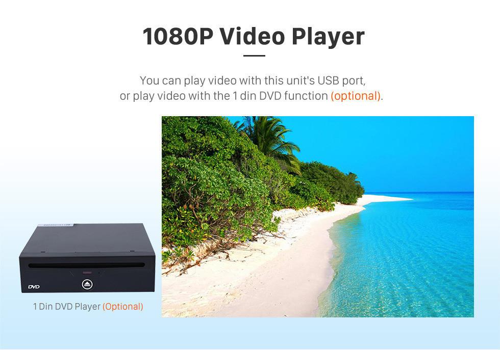 Seicane 10,1 pouces HD Radio tactile Stéréo Système de navigation GPS automatique Android 10.0 Pour 2014 2015 2016 2017 TOYOTA VIOS Soutien Bluetooth OBD II DVR 3G / 4G WIFI Caméra de recul