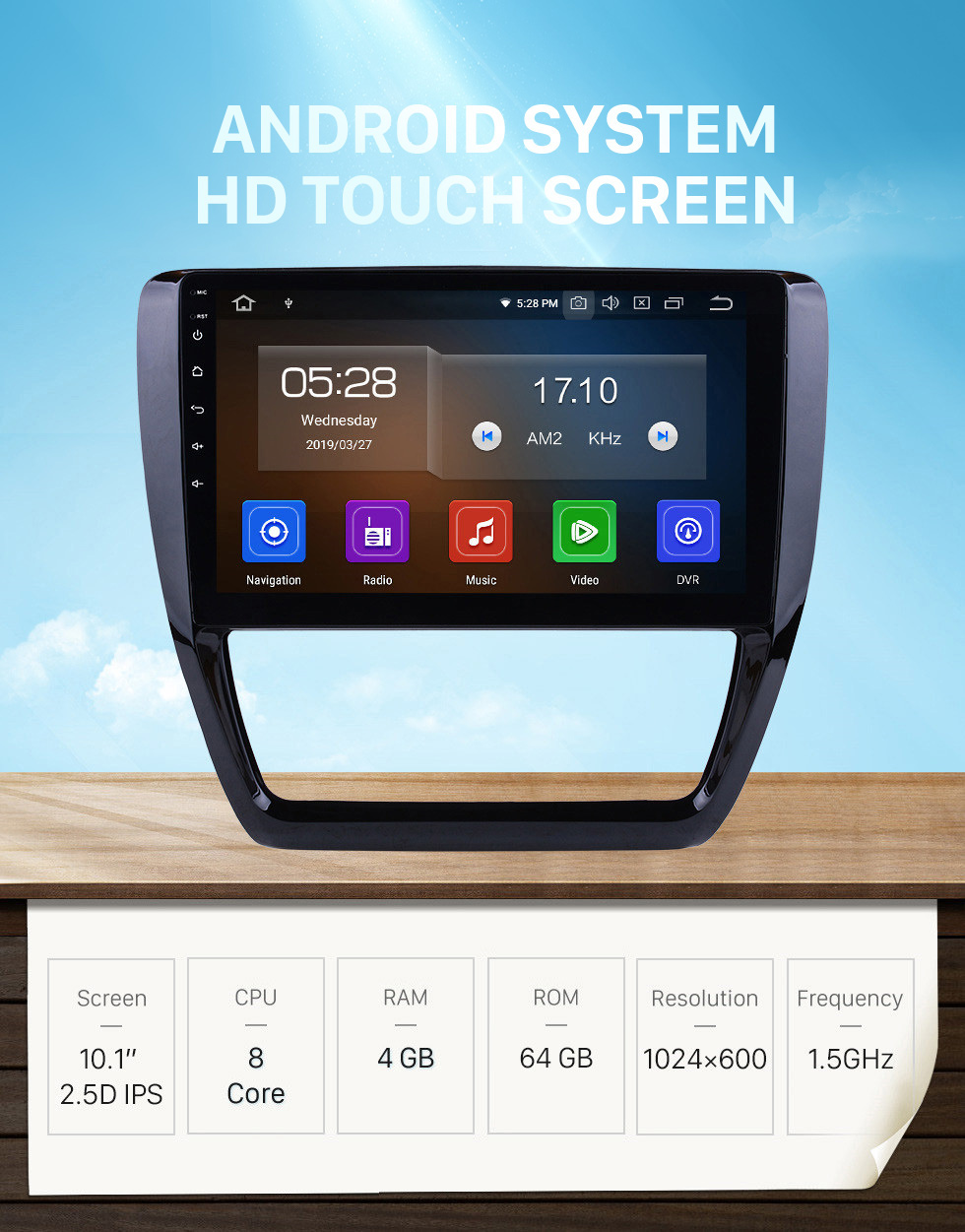 Seicane Android 10.0 2012 2013 2014 2015 VW Volkswagen SAGITAR 10.1 inch HD Touchscreen Bluetooth GPS Navigation Multimedia Player WIFI SWC DAB OBD2 USB Carplay 1080P Video