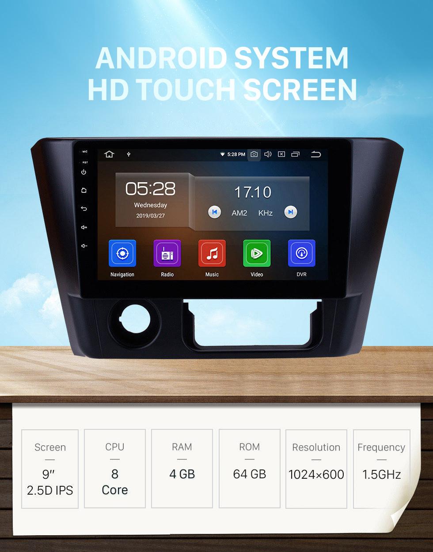 Seicane 9 inch Android 10.0 HD Touchscreen Stereo Radio for 2014 2015 2016 Mitsubishi Lancer GPS Navi Bluetooth Mirror Link WIFI USB Phone Music SWC DAB+ Carplay 1080P Video