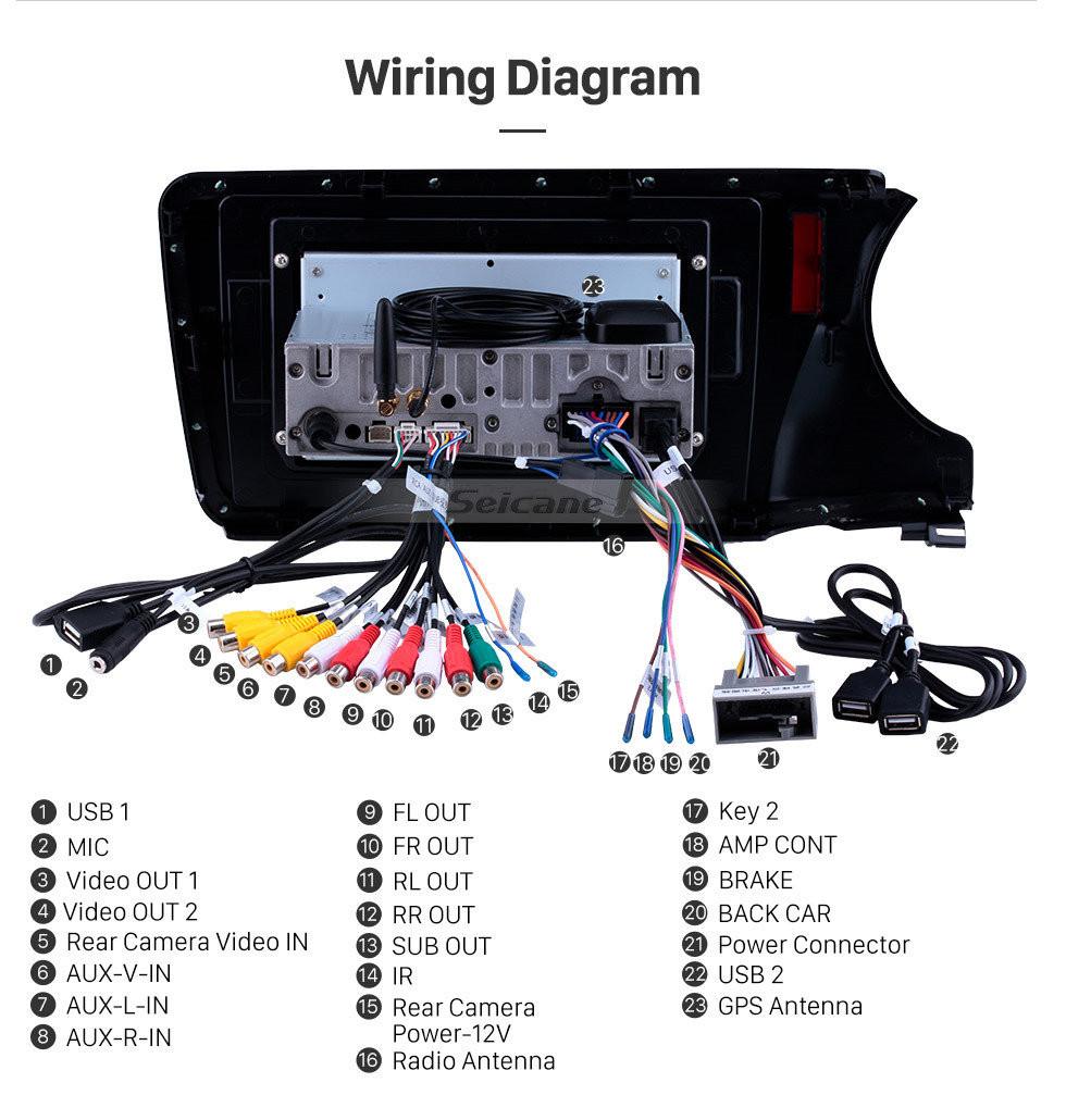 Seicane 10.1 inch Android 10.0 2014-2017 HONDA CITY LHD HD Touchscreen Radio GPS Navigation System Bluetooth USB WIFI Mirror Link Steering Wheel Control