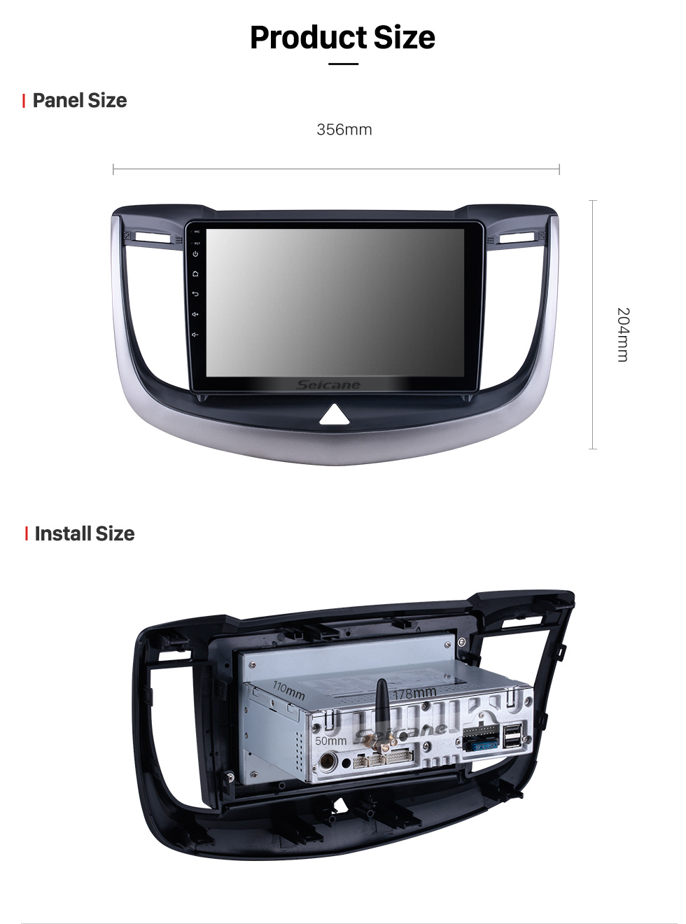 Seicane Android 10.0 For 2013 2014-2017 Chevy Chevrolet Epica Radio 9 inch GPS Navigation System with Bluetooth HD Touchscreen Carplay support SWC