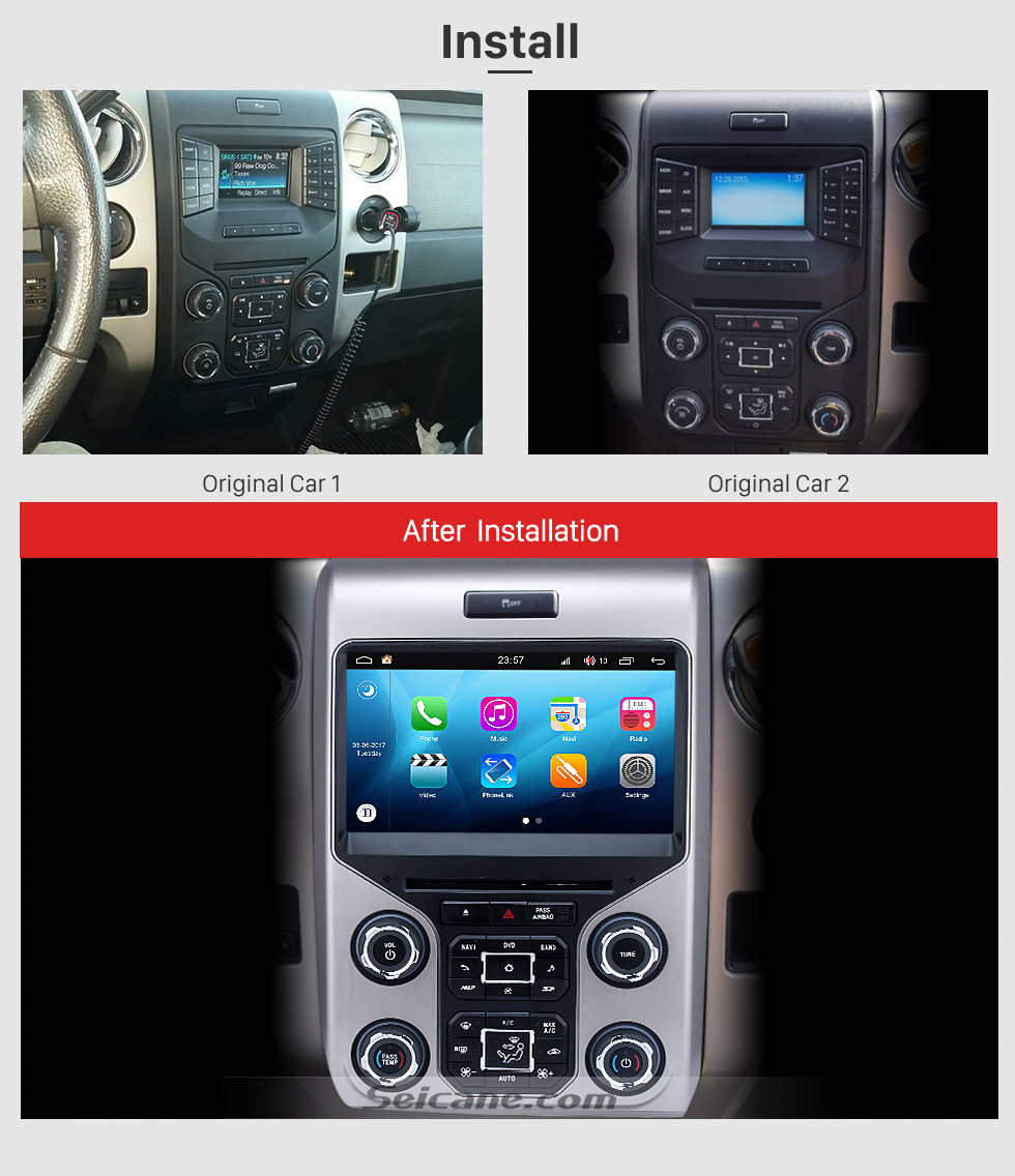 OEM Android 8.0 Radio GPS Navigation System For 2013 2014