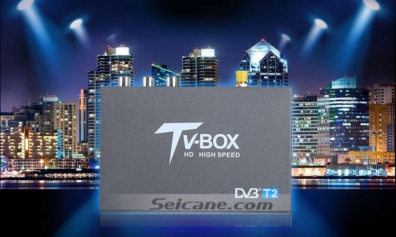 Seicane T337B H.264 (MPEG4) DVB-T2 TV RECEIVER original