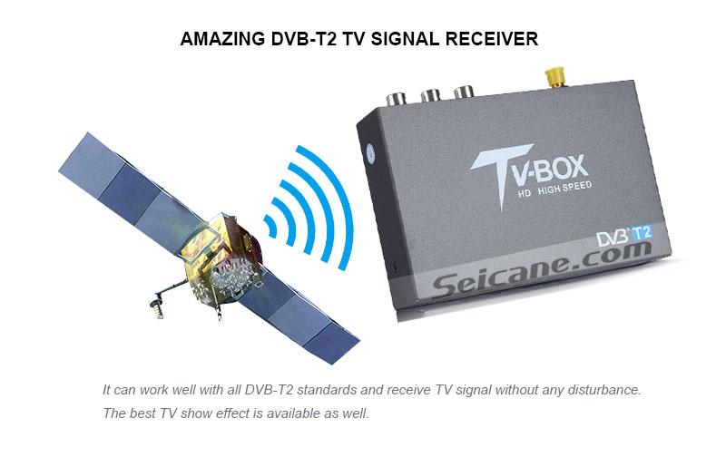 Seicane T337B H.264 (MPEG4) DVB-T2 TV RECEIVER Amazing DVB-T2 TV signal Receive