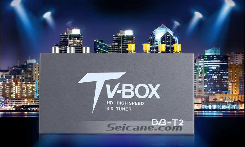 Seicane T339B H.264 (MPEG4) DVB-T2 TV RECEIVER original